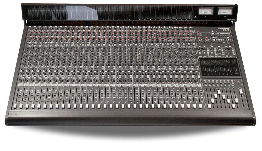 mackie 24 8 inkl meterbridge analog mischpult mit warmem sound 1j gew hrl ebay. Black Bedroom Furniture Sets. Home Design Ideas